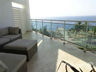Condo for sale in Oceafront apartment for rent, fully furnished in Malecon, Malecon, Santo Domingo