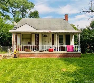 Residential Property for sale in 17670 WOODBINE Street, Detroit, MI, 48219