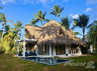 Residential Property for sale in GORGEOUS TROPICAL STYLE VILLA STEPS FROM THE BEACH, Las Terrenas, Samaná