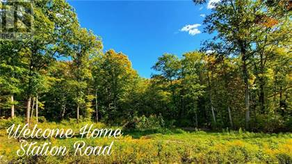 Vacant Land for sale in 0 STATION Road, Marmora and Lake, Ontario
