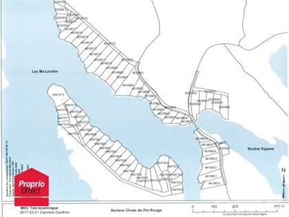 Lots And Land for sale in Ch. Chute-aux-Pins-Rouges, Les Lacs-du-Temiscamingue, Quebec
