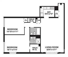 Residential Property for rent in Gateway Plaza, Manhattan, NY, 10280