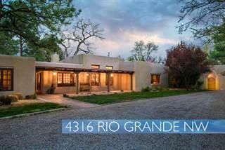 Single Family for sale in 4316 Rio Grande Boulevard NW, Albuquerque, NM, 87107