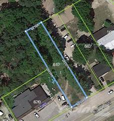 Land for sale in 612 River Rd W, Wasaga Beach, Ontario
