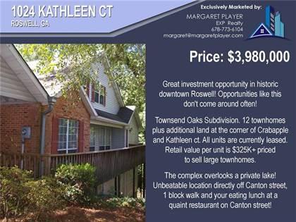 Multifamily for sale in 1024 Kathleen Court, Roswell, GA, 30075