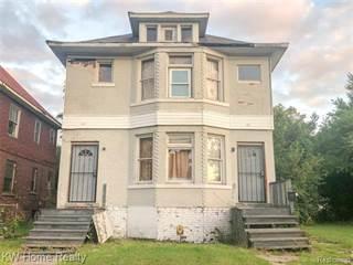 Multi-family Home for sale in 197 W BUENA VISTA Street, Highland Park, MI, 48203