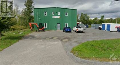 Industrial for rent in 172 REIS ROAD, Ottawa, Ontario, K0A1L0