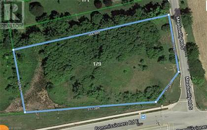 Vacant Land for sale in 179 MEADOWLILY Road, London, Ontario, N6M1C3