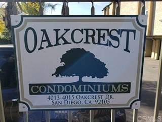 Single Family for sale in 4013 OAKCREST DRIVE 5, San Diego, CA, 92105
