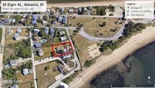 Land for sale in 25 Elgin Street, Warwick, RI, 02889