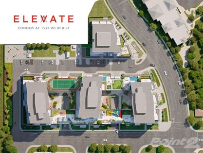 Condominium for sale in Elevate Condos, Kitchener, Ontario, N2A 1C2