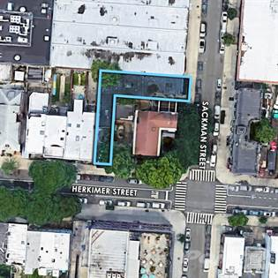 Land for sale in 52 Sackman Street, Brooklyn, NY, 11233