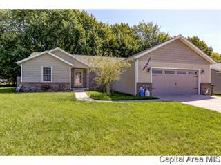 Single Family for sale in 108 HILLCREST DR, Mechanicsburg, IL, 62545