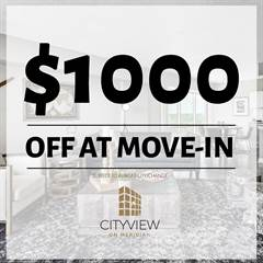 Apartment for rent in CityView on Meridian, Indianapolis, IN, 46208