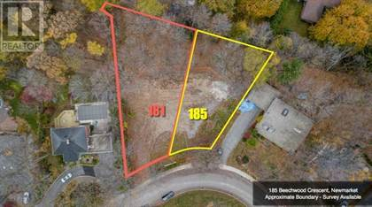 Vacant Land for sale in 181 BEECHWOOD CRES, Newmarket, Ontario, L3Y1W2