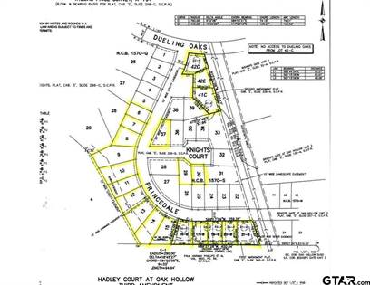 Lots And Land for sale in 7512 Princedale, Tyler, TX, 75703