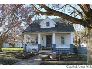 Single Family for sale in 407 LOUISA ST, Illiopolis, IL, 62539