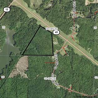 Lots And Land for sale in HIGHWAY 43 HWY, Kosciusko, MS, 39090