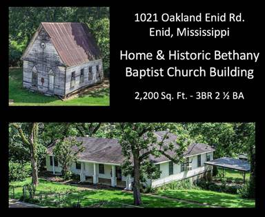 Residential Property for sale in 1021 Oakland-Enid Rd., Enid, MS, 38927