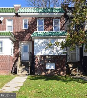 Residential Property for sale in 4555 REISTERSTOWN ROAD, Baltimore City, MD, 21215