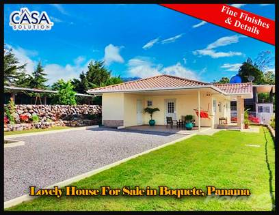 Residential Property for sale in Lovely House for Sale in Boquete, Panama with Fine Finishes and Details, Boquete, Chiriquí