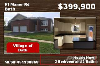 Residential Property for sale in 91 Manor Rd, Loyalist, Ontario