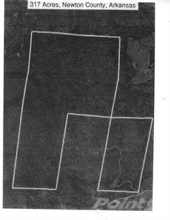 Lots And Land for sale in 317 acres, Newton County Line Road, Harrison, AR, 72601