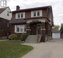 Single Family for rent in 2211 GLADSTONE, Windsor, Ontario