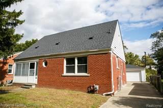 Single Family for sale in 23460 ROANOKE Avenue, Oak Park, MI, 48237
