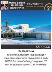 Single Family for sale in 40067 Rosewood Road St Genevieve, Manitoba, North Central Manitoba, Manitoba