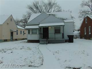 Single Family for sale in 19990 OHIO Street, Detroit, MI, 48221