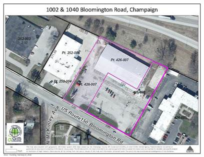 Commercial for sale in 1040 West Bloomington Road, Champaign, IL, 61821