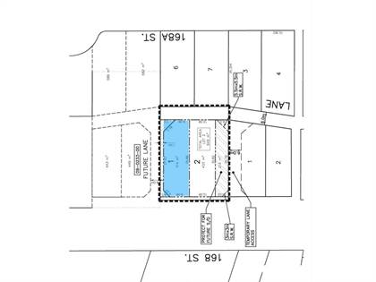 Vacant Land for sale in 5936 168 STREET, Surrey, British Columbia, V3S3X6
