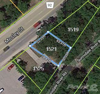 Lots And Land for sale in 1521 Mosley Street, Wasaga Beach, Ontario, L9Z 2B7