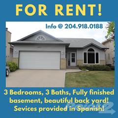 Residential Property for rent in 109 Apple Hill  Road, Winnipeg, Manitoba, R3Y 1A8
