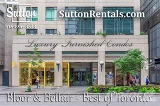 Condo for rent in 102 Bloor St  W, Toronto, Ontario, M5S 1M8