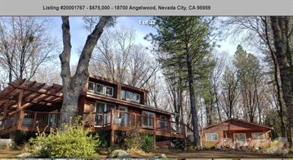 Residential Property for sale in $660,000...SOLD...18700 ANGELWOOD, 5 ACRES, Nevada City, CA, 95959