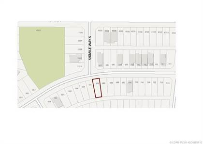 Lots And Land for sale in 676 Sixmile Crescent S, Lethbridge, Alberta, T1K 6Z9