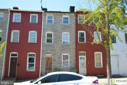 Residential Property for sale in 66 S CARROLLTON AVENUE, Baltimore City, MD, 21223