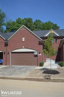 Residential Property for sale in 3646 Bay Harbor Drive 72, Brighton, MI, 48114