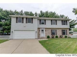 Single Family for sale in 1225  OLD CROWS WAY, Springfield, IL, 62712