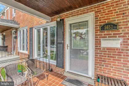 Residential Property for sale in 5652 KAVON AVE, Baltimore City, MD, 21206