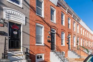 Townhouse for sale in 1416 WARD STREET, Baltimore City, MD, 21230
