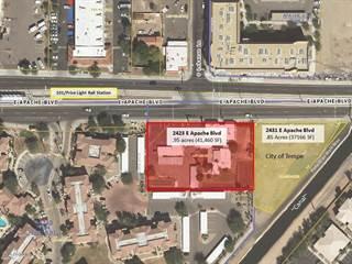Land for sale in 2423 E Apache Boulevard, Tempe, AZ, 85281