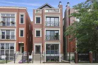 Condo for sale in 1414 West Chestnut Street 1, Chicago, IL, 60642