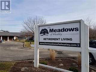 Single Family for rent in 21205 PIER ROAD Unit# MEADOWS SUITE, Wheatley, Ontario, N0P2P0