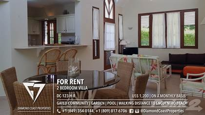 Residential Property for rent in Boutique 2 Bed Villa in Gated Residential, walking distance to Encuentro Beach, Cabarete, Puerto Plata