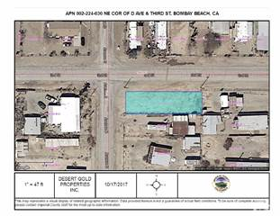 Land for sale in 0 Lot 147 Avenue D, Bombay Beach, CA, 92257