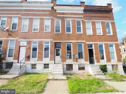Residential for sale in 2642 EDMONDSON AVENUE, Baltimore City, MD, 21216