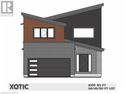 Single Family for sale in 2136 TOKALA TRAIL 108 LOT, London, Ontario, N6G0C4
